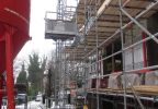 metselsteiger en bouwlift