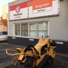 Nieuw in ons assortiment de Vermeer hydraulisch bedienbare stobbenfrees.